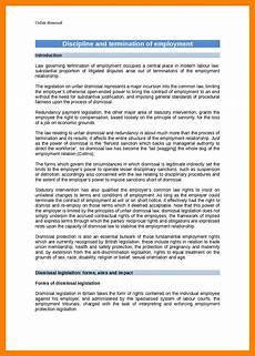Constructive Discharge Letter 11 Constructive Dismissal Resignation Letter Template