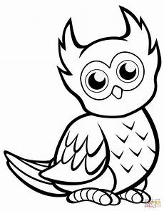 Owl Sheets Cute Owl Coloring Page Free Printable Coloring Pages