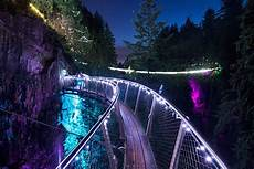 Capilano Suspension Bridge Canyon Lights Tickets Canyon Lights At Capilano Suspension Bridge Makes The