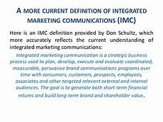 Integrated Marketing Communications Definition What Do We Know About Imc