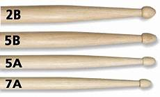Promark Drumstick Size Chart Choosing Drumsticks What The Numbers Amp Letters Mean