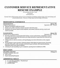 Career Objective Examples For Customer Service Free Resume Samples For Customer Service Sample Resumes