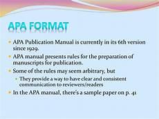 Apa Presentation Format Ppt Apa Format Powerpoint Presentation Free Download