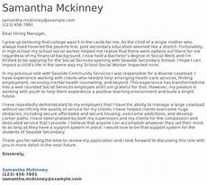 Cover Letter Mental Health Worker Social Services Cover Letter Examples Samples Amp Templates