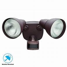 Defiant Lighting Defiant 270 176 Rust Motion Outdoor Security Light Df 5718 Rs
