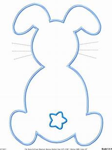 Printable Bunny Template Bunny Outline Free Download On Clipartmag