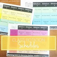 Rotation Schedule Class Rotation Schedules Reading Math Amp Spelling