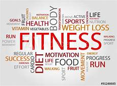 Words Related To Fitness Quot Fitness Words Concept Health Sport Medical And Fitness