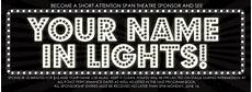 Name In Lights Generator Your Name In Lights The Garfield Center For The Arts At