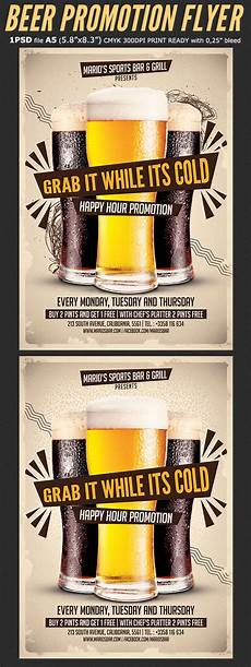 Promotional Flyer Ideas Promotion Happy Hour Flyer Template Flyerstemplates