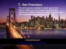 Livecareer San Francisco Top 8 U S Cities To Work In