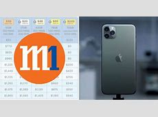M1 releases contract price plans for the iPhone 11, 11 Pro