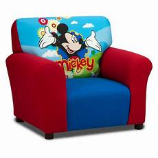 disney mickey mouse club chair upholstered chairs
