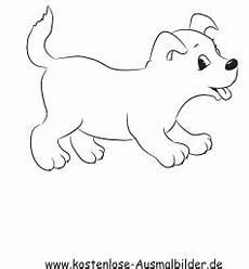 ausmalbild kleiner welpe in 2020 ausmalbilder hunde