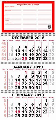 3 Month Calendar 2020 2020 Three Month Calendar 3 Month View With Week Numbers