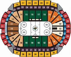 Mn Wild Xcel Seating Chart Seating Charts Xcel Energy Center