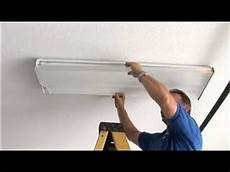 Replacement Cover For Fluorescent Light Fixture Home Electrical Repairs How To Replace The Lens For