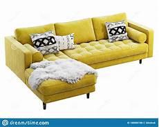 Navy Chaise Sofa 3d Image by Scandinavian Corner Yellow Velvet Upholstery Sofa With