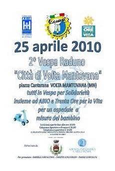 vespa club volta mantovana vespa raduno volta mantovana 25 aprile 2010