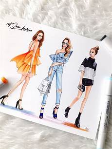 new york fashion week ss17 recap fashion illustration