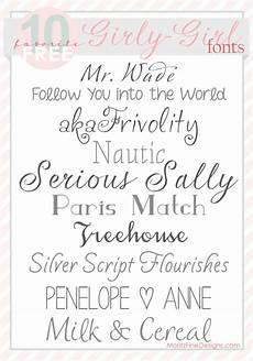 Girl Fonts 40 Best Wedding Fonts Moritz Fine Blog Designs