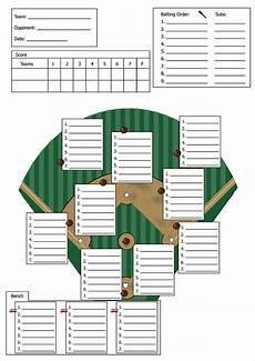 Baseball Position Template Baseball Lineup Template Doliquid