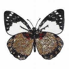 high quality embroidery butterfly sew on patch badge