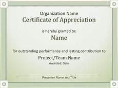 Certificate Of Appreciation Doc Certificates Office Com