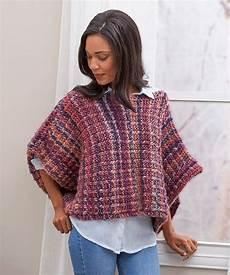 free free striped poncho knitting patterns patterns
