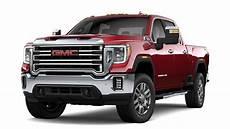 new 2020 gmc heavy duty trucks 2020 gmc 2500hd 3500hd slt sle at4 denali