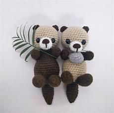 pattern crochet otter pattern amigurumi otter crocheted
