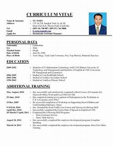 Perfect Font For Resumes A Perfect Cv Resume Sample Job Resume Template