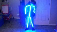 Diy Stickman Light Costume Rgb Stick Man Halloween Costume Youtube