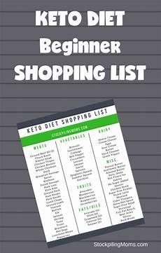 Normal Grocery List Keto Diet Beginner Shopping List Stockpiling