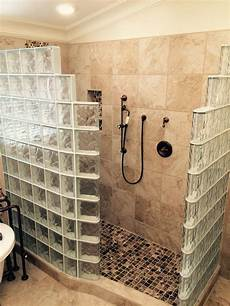 Walk In Shower Ideas For Small Bathrooms My Customer S Top 5 Fears Of A Glass Block Walk In Shower
