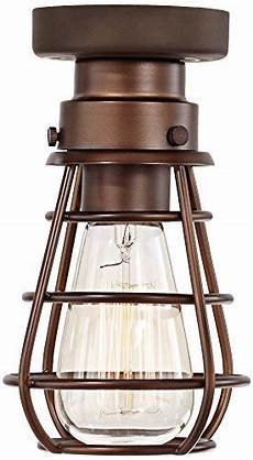 Caged Patio Lights Caged Ceiling Fans With Lights Amazon Com