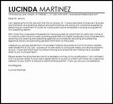 Another Word For Cover Letter For A City Job Cover Letter Sample Cover Letter