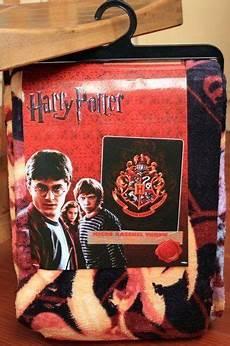 harry potter hogwarts style coral fleece soft blanket
