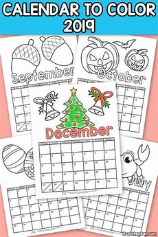 November 2020 Calendar For Kids Printable Calendar For Kids 2019 Itsy Bitsy Fun