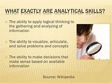 Definition Of Analytical Skills Developing Your Analytical Skills