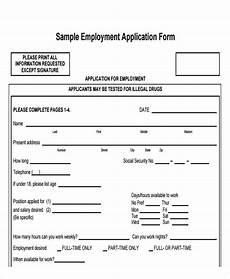 Basic Application Forms 49 Job Application Form Templates Free Amp Premium Templates