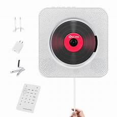 Portable Bluetooth Player Wall Mounted Speaker by Kecag Cd Player Wall Mountable Bluetooth Portable Home