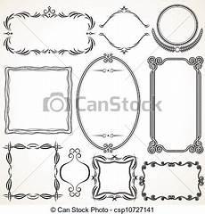 cornici grafiche cornici ornamentale ornamentale vettore disegni