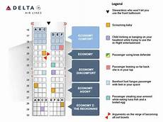 Delta Airlines Seating Chart Delta S New Airplane Seating Chart Youtube
