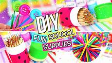 diy school supplies diy back to school supplies
