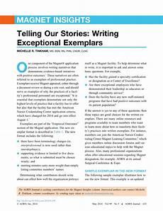 Clinical Writing Sample Nursing Exemplar Examples Best Registered Nurse Resume