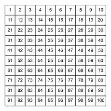 100 Square Pocket Chart 7 Best Images Of Printable Number Grid Printable Number