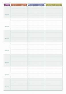 Teaching Planning Template Download Printable Teacher Planner Casual Style Pdf