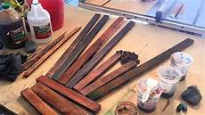 diy wood finishing vinegar and steel wool tips and