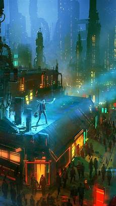 cyberpunk city iphone wallpaper 1080x1920 cyberpunk futuristic city